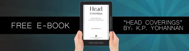 Free K.P. Yohannan E-Book on Head Coverings
