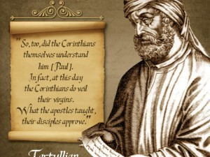 Tertullian Quote Image #1