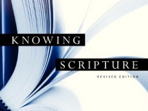 """Knowing Scripture"" Giveaway"