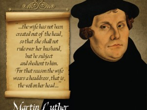 Martin Luther Quote Image #1