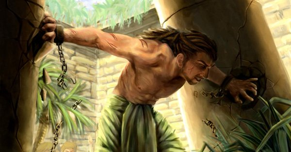 what about men like samson who had long hair the head