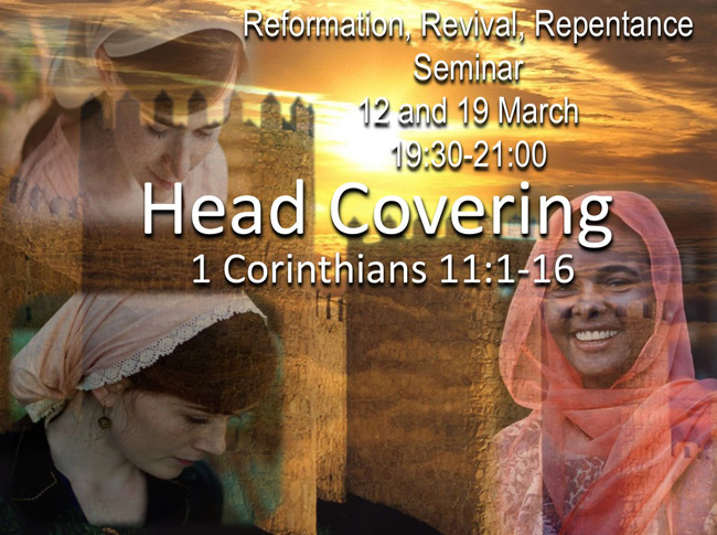 Reformation, Revival, Repentance Seminar