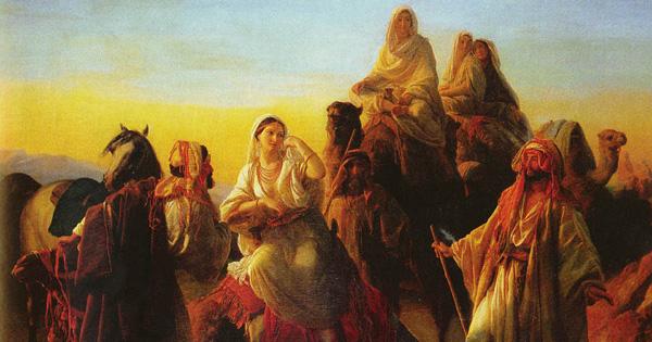 Rebekah Took Her Veil And Covered Herself Genesis 24