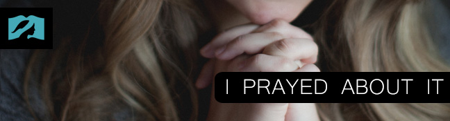 I Prayed About it (And I Don't Feel Convicted to Cover)