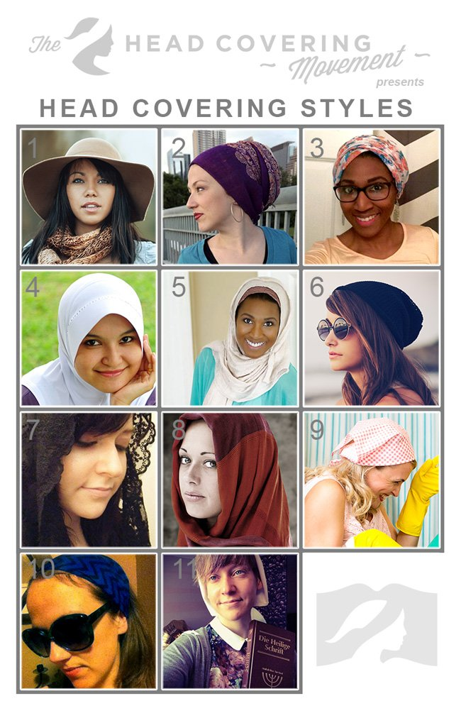 There are so many different styles of head coverings to choose from when covering as a Christian woman. Check out these styles and learn more about head covering.