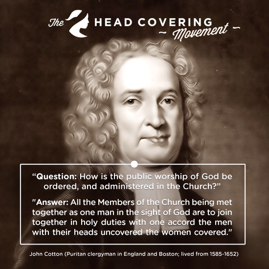 John Cotton Books: The Head Covering Movement