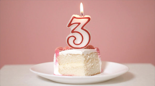 It's our 3rd Birthday