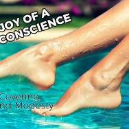 The Joy of a Clear Conscience: Head Covering, Bikinis, and Modesty