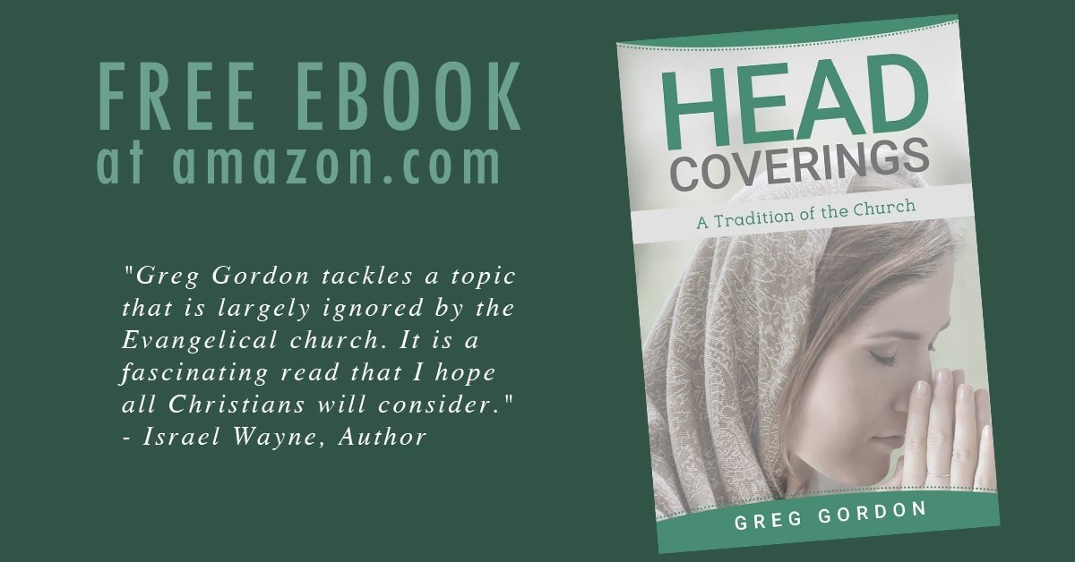 New Free E-Book: Head Coverings by Greg Gordon