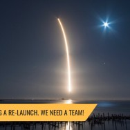 We're planning a re-launch. We need a team!