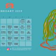 February 2019 Posting Schedule