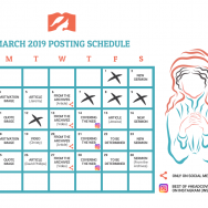 March 2019 Posting Schedule