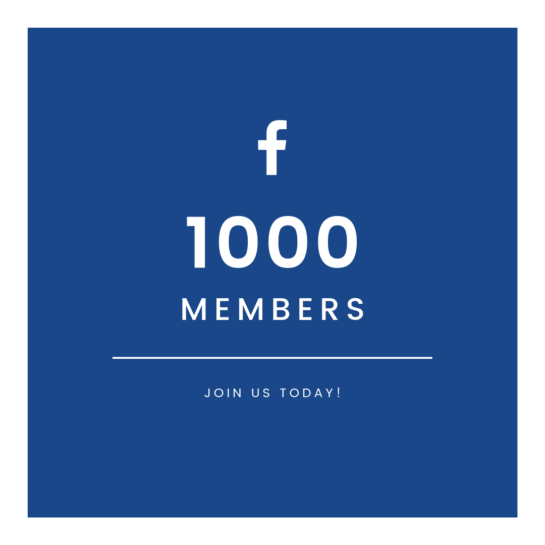 1000 FB Group Members